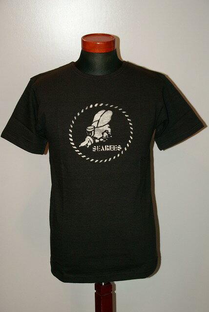 トップス, Tシャツ・カットソー  HELLERS CAFE () T HC-M74 THE SEABEE ALLSTARS