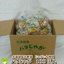 【送料無料】北海道富良野産 じゃがいも男爵使用!無添加バタじゃが100玉入