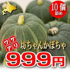 有機肥料で栽培したホクホクの坊ちゃん(ボッチャン)かぼちゃ♪「北海道富良野産」 訳あり ...