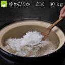 令和2年産 北海道産 ゆめぴりか 玄米 30kg