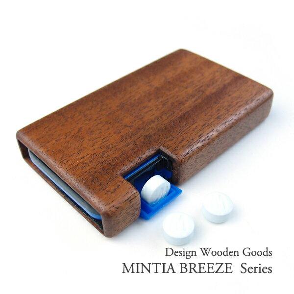 木で作った MINTIA BREEZE 専用ケース