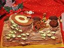 【2020年 予約受付中】クリスマスケーキ チョコケーキ 予約商品  2020年版クリスマスケーキ限定ノエル 【お取り寄せ チョコレート ロールケーキ スイーツ】 2
