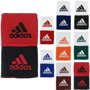 アディダス リストバンド 2個セット 野球 テニス バスケ スポーツ インターバル リバーシブル リストバンド おしゃれ ロゴ adidas Interval Reversible Wristbands 全6色