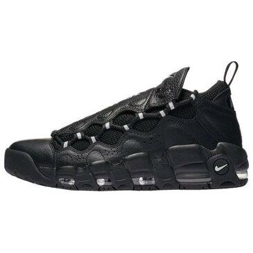 (取寄)ナイキ メンズ スニーカー エア モア マネー Nike Men's Air More Money Black Metallic Silver Black Pure Platinum