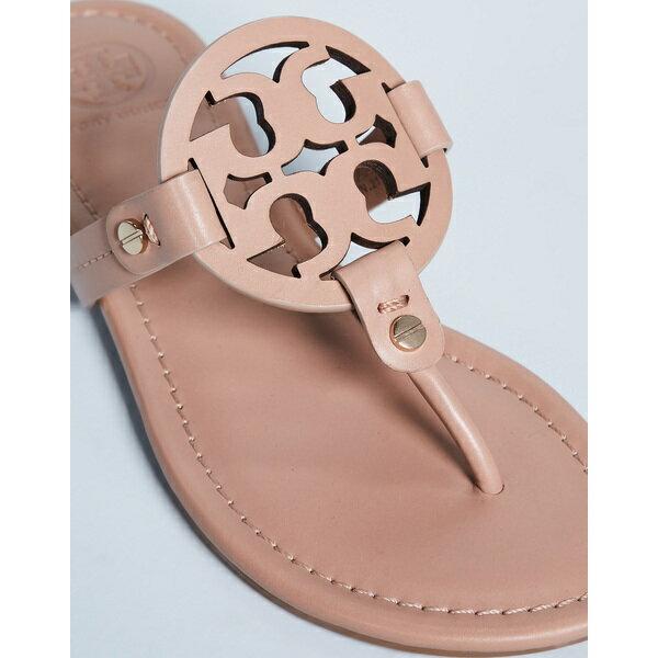 (取寄)Tory Burch Women's Miller Thong Sandals トリーバーチ レディース ミラー トング サンダル LightMakeup
