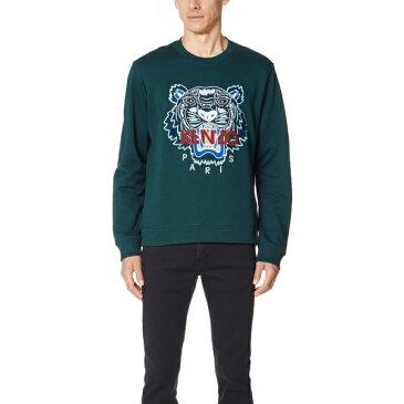 (取寄)KENZO Classic Tiger Sweatshirt ケンゾー クラシック タイガー スウェットシャツ Pine