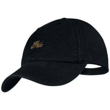 (取寄)ナイキ メンズ H86 エア キャップ Nike Men's H86 Air Cap Black Black Metallic Gold