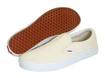 (取寄)Vans(バンズ) スニーカー クラシック スリップ メンズ Vans Men's Classic Slip White (Canvas)