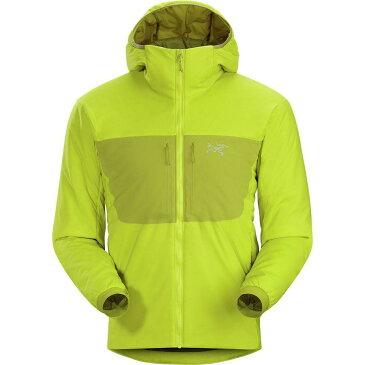 (取寄)アークテリクス メンズ プロトン AR フーデッド インサレーテッド ジャケット Arc'teryx Men's Proton AR Hooded Insulated Jacket Lichen
