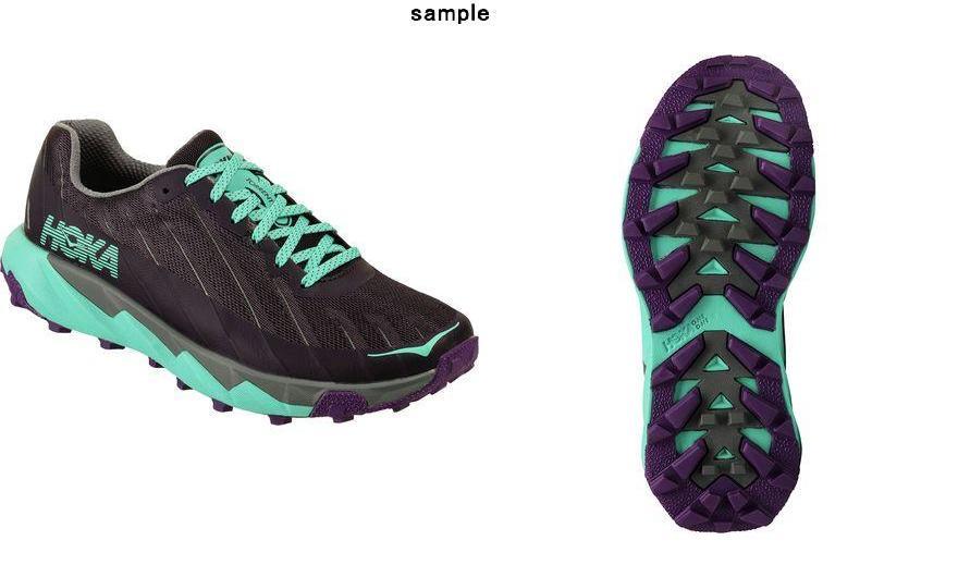 (取寄)ホカ オネオネ レディース トレント トレイル ラン シューズ Hoka One One Women Torrent Trail Run  Shoe Nine Iron/Steel Gray