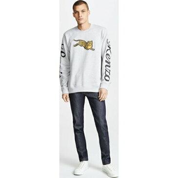 (取寄)KENZO Jumping Tiger Sweatshirt ケンゾー ジャンピング タイガー スウェットシャツ PearlGrey