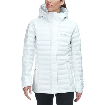 (取寄)コロンビア レディース Titanium アウトドライ Ex エコ フーデッド ダウン ジャケット Columbia Women Titanium Outdry EX Eco Hooded Down Jacket White Undyed