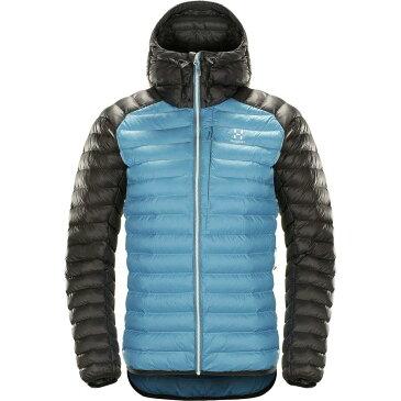 (取寄)ホグロフス レディース エッセンス ミミック フーデッド インサレーテッド ジャケット Haglofs Women Essens Mimic Hooded Insulated Jacket Blue Fox/Slate