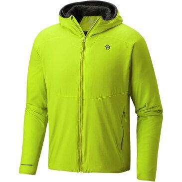 (取寄)マウンテンハードウェア メンズ エイサーム インサレーテッド フーデッド ジャケット Mountain Hardwear Men's ATherm Insulated Hooded Jacket Fresh Bud