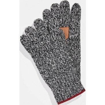 (取寄)ポロ ラルフローレン ラグ グローブ ウィズ ディアスキン パーム パッチ Polo Ralph Lauren Ragg Gloves with Deerskin Palm Patches SaltandPepper
