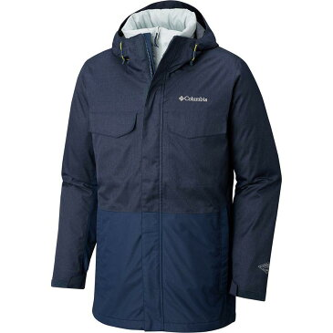 【クーポンで最大2000円OFF】(取寄)コロンビア メンズ カシュマン クレスト インターチェンジ ジャケット Columbia Men's Cushman Crest Interchange Jacket Collegiate Navy Heather