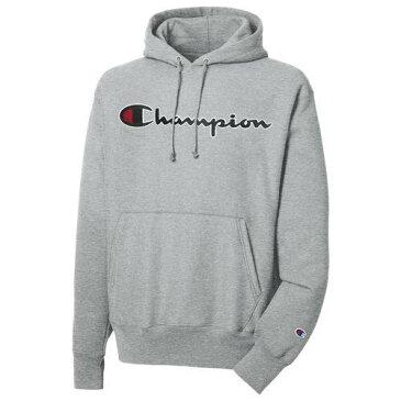 (取寄)チャンピオン メンズ リバース ウィーブ チャインスティッチ プルオーバー フーディ Champion Men's Reverse Weave Chainstitch P/O Hoodie Oxford Grey
