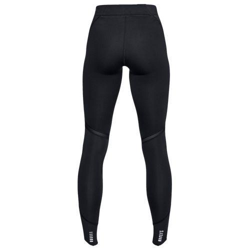 (取寄)アンダーアーマー レディース リアクター ラン SP ラン タイツ Underarmour Women's Reactor Run SP Run Tights Black Black Reflective