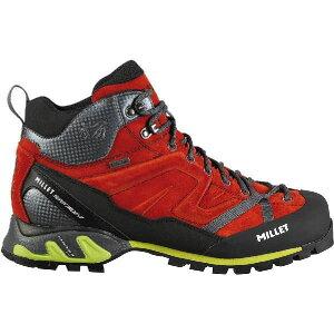 ミレー メンズ スーパー トライデント GTX シューズ 登山靴 トレッキングシューズ Millet Men's Super Trident GTX  Shoe Red/Rouge