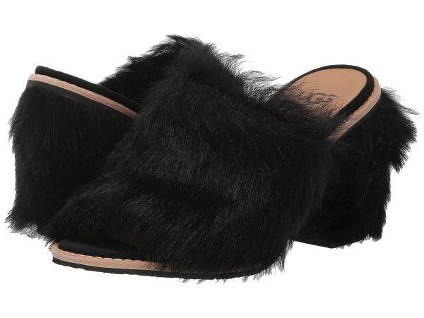 (取寄)アグ レディース ロサ フラフ ヒール  UGG Women Rosa Fluff Heel  Black