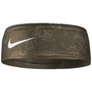 【エントリーでポイント10倍】(取寄)ナイキ レディース フューリー ヘッドバンド 2.0 Nike Women's Fury Headband 2.0 Olive Canvas White
