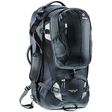 (取寄)ドイター ユニセックス トラベラー 70+10L バックパック Deuter Men's Traveller 70+10L Backpack Black/Silver