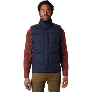 【クーポンで最大2000円OFF】(取寄)マウンテンハードウェア メンズ グレイシャル ストーム ベスト Mountain Hardwear Men's Glacial Storm Vest Dark Zinc