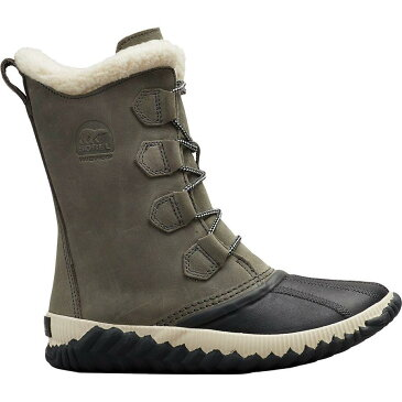 (取寄)ソレル レディース アウト Nアバウト プラス トール ブーツ Sorel Women Out N About Plus Tall Boot Quarry/Coal