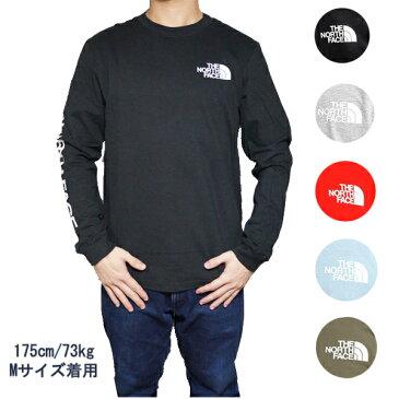 ノースフェイス 長袖Tシャツ メンズ ヒット ロングスリーブ Tシャツ ロンT The North Face Men's Sleeve Hit Long-Sleeve T-Shirt