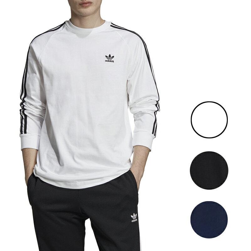 トップス, Tシャツ・カットソー  t Mens adidas Originals California Long Sleeve T-Shirt White black blue
