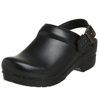 Dansko women's Ingrid box leather clog black dansko Ingrid Box Leather Clog Black