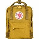 【クーポンで最大2000円OFF】(取寄) フェールラーベン ユニセックス カンケン ミニ 7L バックパック Fjallraven Men's Kanken Mini 7L Backpack Ochre