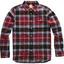 【マラソン ポイント10倍】(取寄)ノースフェイス メンズ アロヨ ロングスリーブ フランネル シャツ The North Face Men's Arroyo Long-Sleeve Flannel Shirt Cardinal Red Speed Wagon Plaid