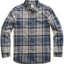 【マラソン ポイント10倍】(取寄)ノースフェイス メンズ アロヨ ロングスリーブ フランネル シャツ The North Face Men's Arroyo Long-Sleeve Flannel Shirt Mid Grey Speed Wagon Plaid