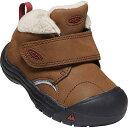 (取寄)キーン トドラー クーテネイ 3 ミッド WP ブーツ KEEN Toddlers' Kootenay III Mid WP Boot Bison / Fired Brick