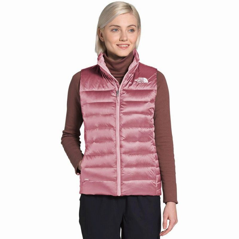 レディースウェア, ベスト () 2 The North Face Women Aconcagua II Down Vest Mesa Rose
