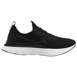 (取寄)ナイキ メンズ シューズ リアクト インフィニティ ラン フライニット Nike Men's Shoes React Infinity Run Flyknit Black White 送料無料