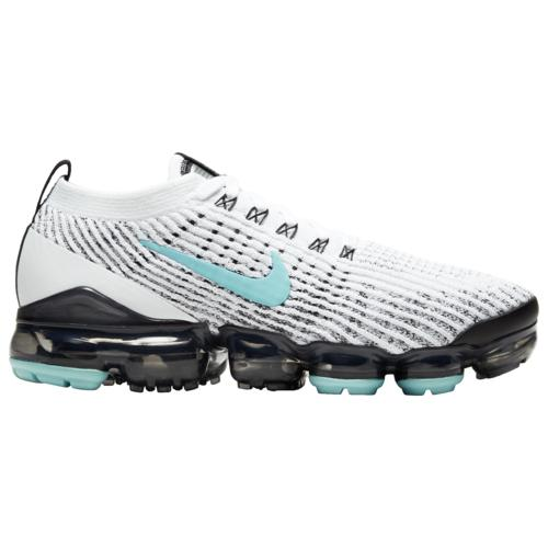 レディース靴, スニーカー () 3 Nike Womens Shoes Air VaporMax Flyknit 3 White Aurora Green Black