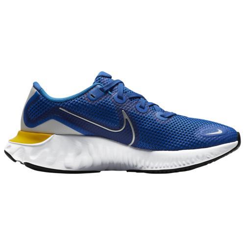 (取寄)ナイキ ボーイズ シューズ リニュー ラン - ボーイズ グレード スクール Nike Boys Shoes Renew Run - Boys' Grade School Game Royal Metallic Silver Photo Blue画像