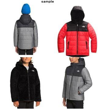 (取寄)ノースフェイス ボーイズ リバーシブル マウント チンボラソ パーカー The North Face Boys Reversible Mount Chimborazo Hoodie TNF Medium Grey Heather