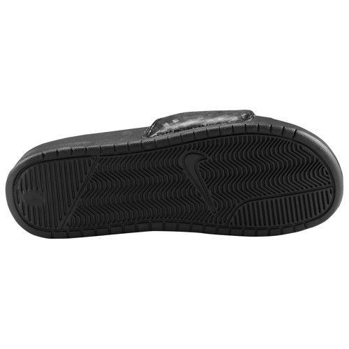 NIKE ナイキ レディース サンダル ベナッシ JDI スライド Nike Women's Benassi JDI Slide Black White【コンビニ受取対応商品】