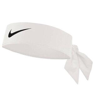 ナイキ ヘッドバンド キッズ バンダナ ヘッドタイ スポーツ ヘアバンド ドライフィット 白 Nike Head Tie - Grade School White Black