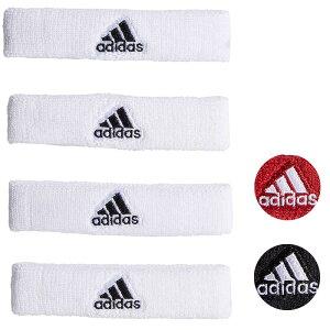 アディダス リストバンド 4個セット バンド バイセップ バンド スポーツ 上腕バンド トレーニング 野球 テニス バスケ おしゃれ ロゴ adidas Interval 3/4-inch Bicep Bands