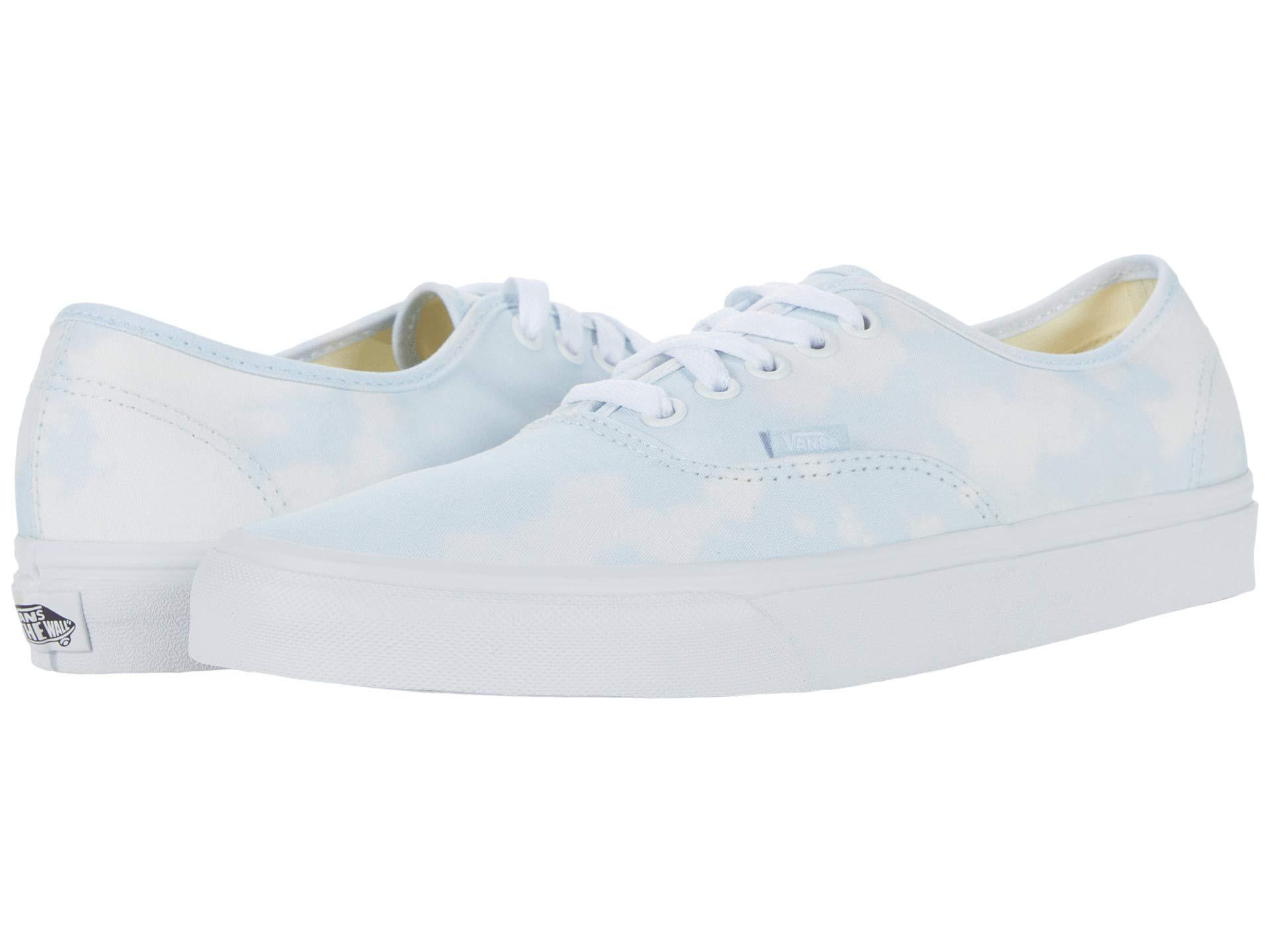 (取寄)Vans(バンズ) スニーカー オーセンティック ユニセックス メンズ レディース Vans Unisex Authentic (Bleach Wash) Ballad Blue 送料無料画像