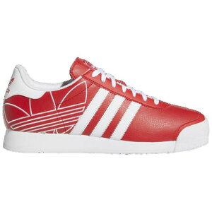 アディダス メンズ スニーカー オリジナルス サモア fv6835 海外限定 シューズ 赤 白 レッド/ホワイト Men's adidas Originals Samoa White 送料無料