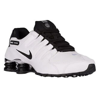 (索取)NIKE耐吉人打擊運動鞋NZ運動鞋跑步鞋Nike Men's Shox NZ White Black Wolf Grey Black