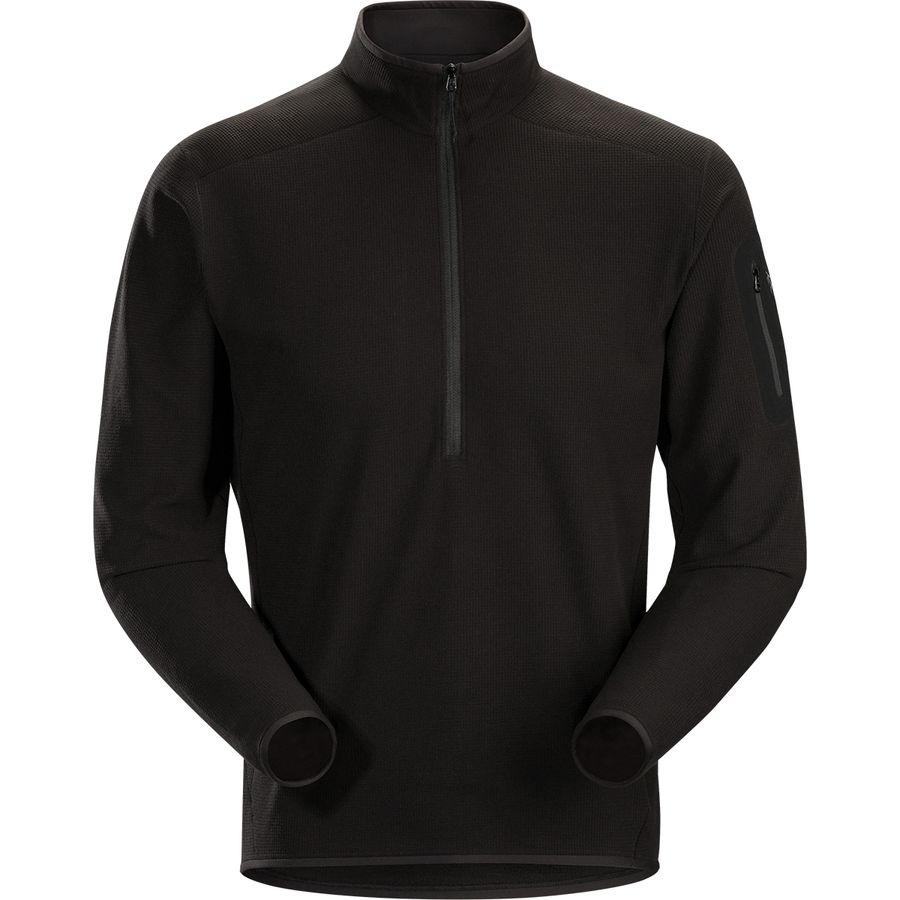 トップス, その他 () LT - Arcteryx Delta LT Zip-Neck Fleece Pullover - Mens Black