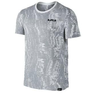 (索取)NIKE naikimenzureburonvavijji 1 T恤Nike Men's LeBron Verbiage 1 T-Shirt White Anthracite
