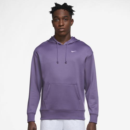 トップス, パーカー () ESS Nike Womens Therma All Time ESS Pullover Purple