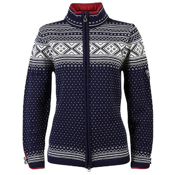 (取寄)ダーレ オブ ノルウェイ レディース バレ セーター Dale of Norway Women Valle Sweater Navy/Off White 【コンビニ受取対応商品】:スウィートラグ